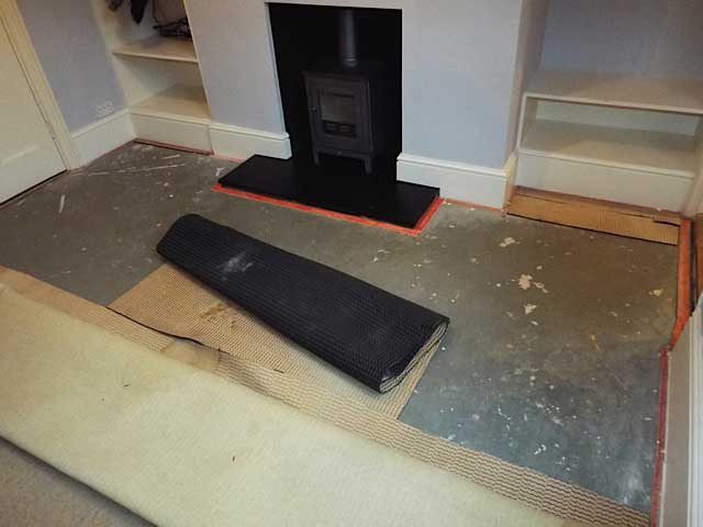 Carpet Laying After Builders